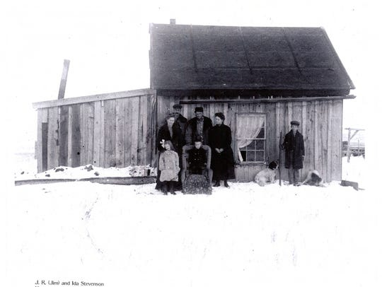 Montana homesteaders were greeted by conditions much