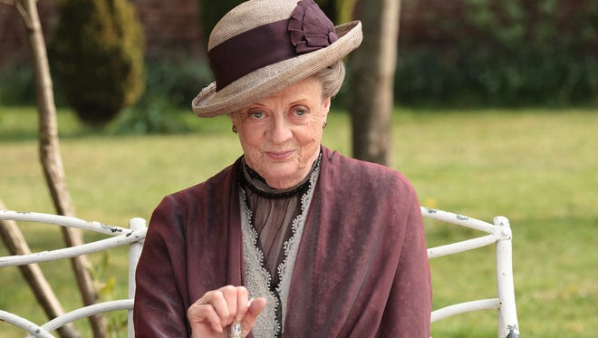 "Maggie Smith as the Dowager Countess Grantham, is shown in a scene from the second season on ""Downton Abbey."" Producers of the popular British period drama on Thursday, March 26, 2015, confirmed it will end after its sixth season, scheduled to air in the U.S. in early 2016."