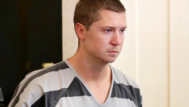 Ray Tensing pleaded not guilty to murder charges in July.