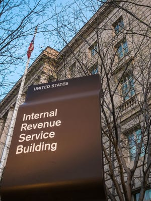 The Internal Revenue Service's Washington, D.C., headquarters.