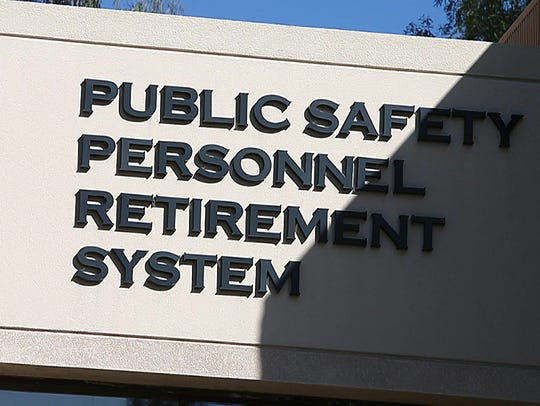 Arizona's pension system for public-safety workers,