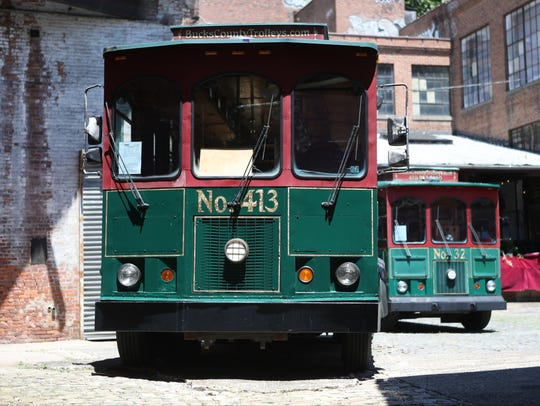 Two free trolleys will be taking people around Paterson starting later this month.