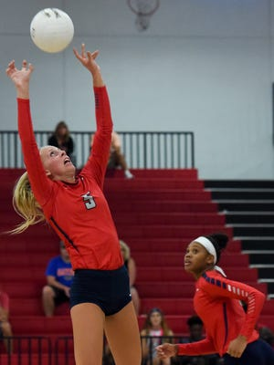 St. Lucie West Centennial setter Erin Ergle was named the team's Most Valuable Player at the school's fall sports awards banquet Nov. 20. Ergle also was named the Florida Athletic Coaches Association's district Class 9A player of the year.