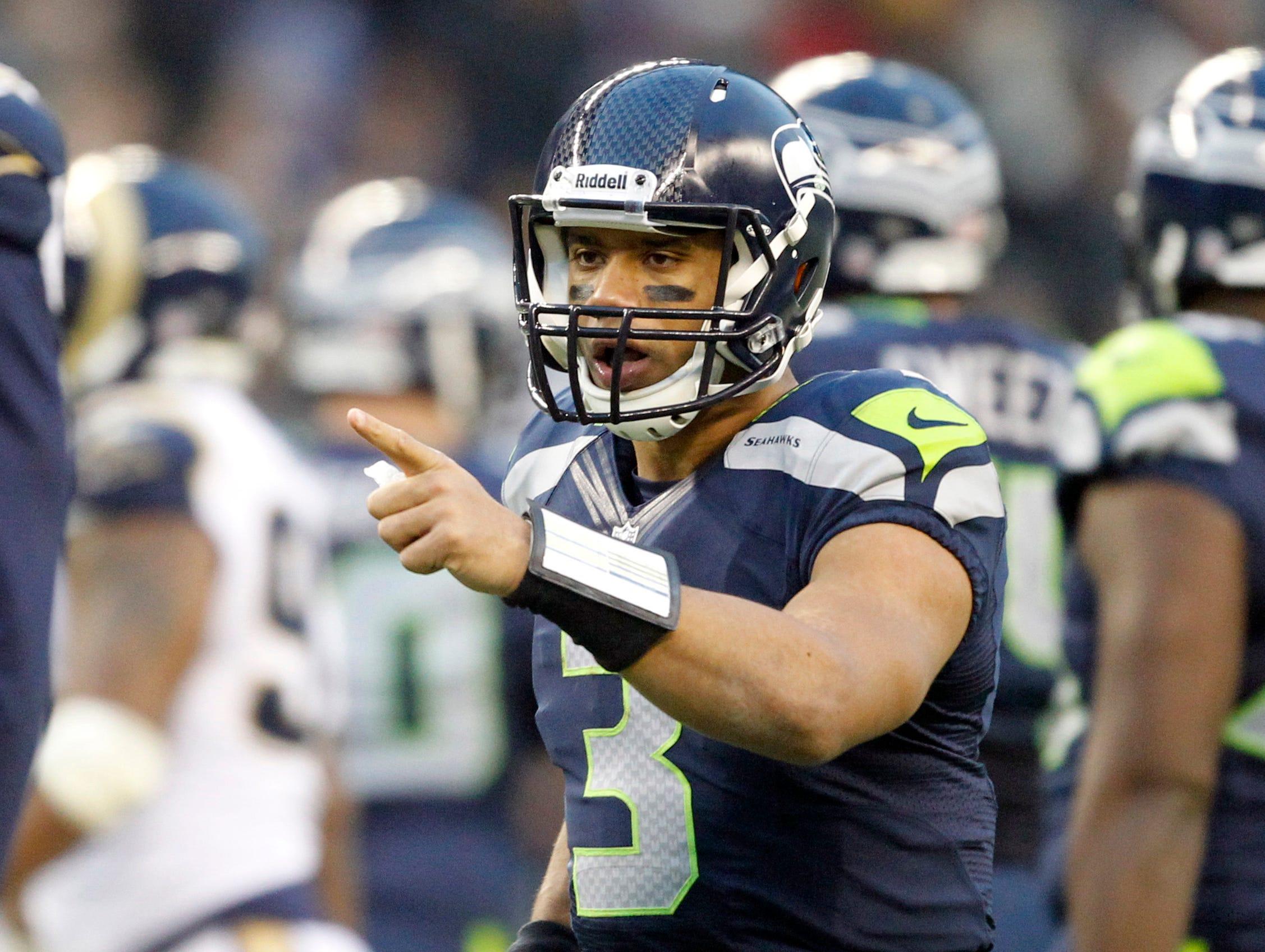 11. Russell Wilson, Seattle Seahawks