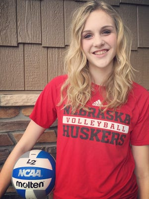 Fossil Ridge freshman Riley Zuhn has verbally committed to play volleyball at Nebraska.