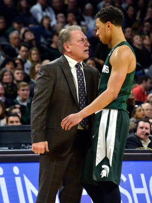 "Tom Izzo: ""Maybe the basketball gods are just bringing us back to Earth and getting us ready for this run now that we're very capable of having."""