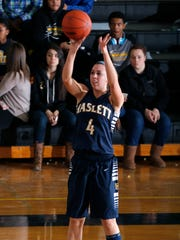 Haslett's Makenna Ott averaged 13.2 points, 4.9 rebounds and 1.7 steals during the regular season. She will play at Hillsdale College next season.