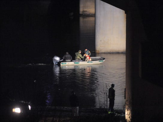 Searchers are shown looking for Shasta Himelrick into