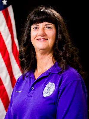 Photo of Cathy Coppes, a Chandler Police Emergency Call Taker