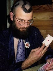 Cecil Bothwell had shaved a question mark on his head