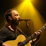 Dave Matthews of the Dave Matthews Band performs in Byron Bay, Australia, last year. The band will kick off a four-month tour in North America on May 13 in Austin, Texas.
