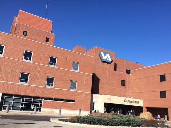 The Cincinnati VA Medical Center in Corryville is in