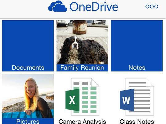 OneDrive on iPhone_TilesView