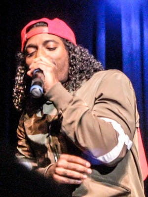 Well known R&B artist Lloyd performed at Western New Mexico University for Great Race Week.