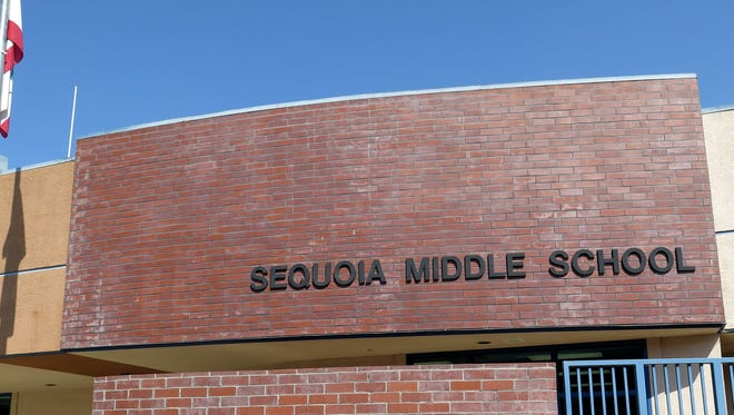 Sequoia Middle School, located at 1450 W. Castle Ave in Porterville.