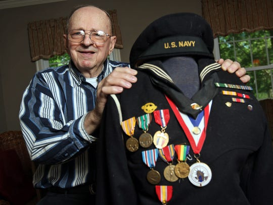 World War II and D-Day veteran Alfred Sippel was the