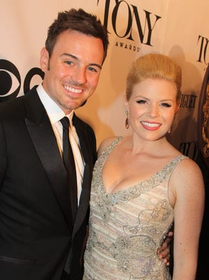 Megan Hilty and husband Brian Gallagher are expecting their first baby.