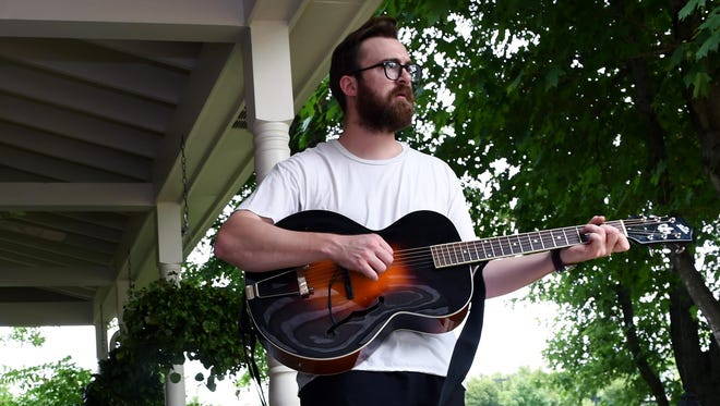 Musician and Brentwood resident Riley Moore is walking 1,600 miles from Maine to Atlanta to Nashville over the next four months. He is using a Thule stroller to carry his guitar and belongings. Along the way, he will be joined by three other musicians and they will play at different music venues during their journey. They are calling it The Walking Guys Tour, and it will last 4 months, starting July 8 until November 9. Riley has spent the past year writing songs and selling real estate and is excited to take his music on tour for the first time.