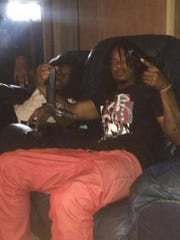 An ex-con identified as Denzel Biggs, of Detroit, posted on Facebook on Aug. 2 a photo of him holding two guns.