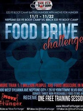 Eze Fit Neptune and Eze Fit Brick, Face Off Against Hunger