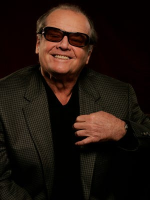 Jack Nicholson at the Beverly Hilton Hotel In 2007.