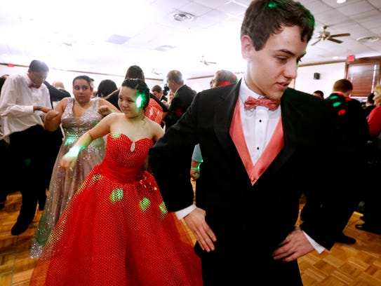 The Special Needs Junior and Senior Prom for Rutherford