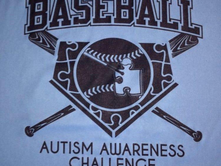 Autism Awareness Baseball Challenge T-shirt