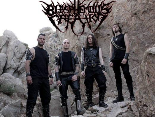 Blasphemous Creation with Enslave the Creation, Ritual