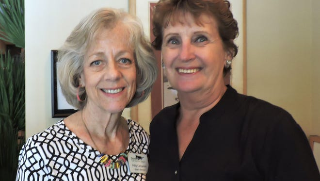 Event chair Polly Campenni and Betty Olliges