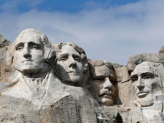 Mount Rushmore,Mount rushmore