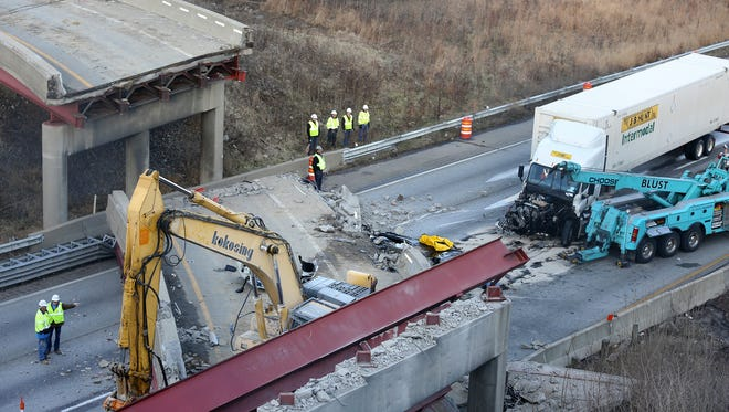 The state's top transportation official says a contractor's review of the Hopple Street overpass demolition plan likely was flawed, according to a report.