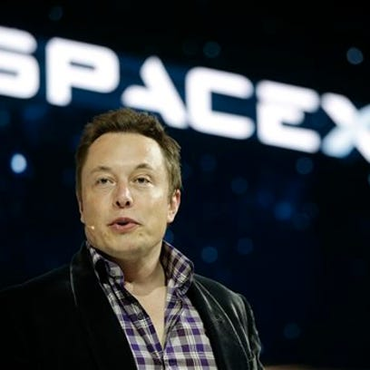 Elon Musk, CEO of SpaceX.