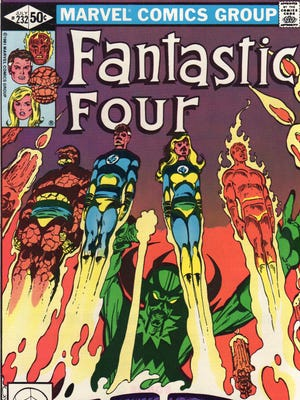 """The 1981 issue of the """"Fantastic Four"""" is one of many comics being offered for sale beginning Jan. 28 at the Friends of the Poughkeepsie Library Book Store."""