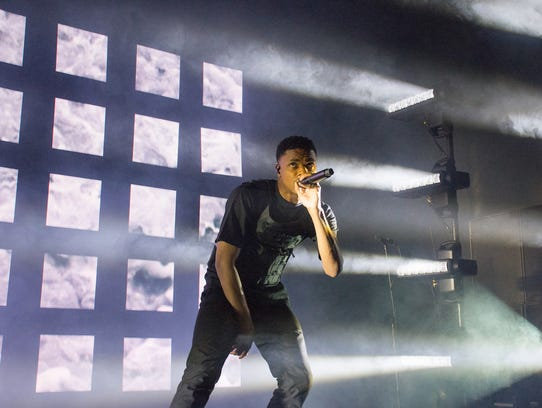 Vince Staples opens for Tyler, The Creator at a sold-out