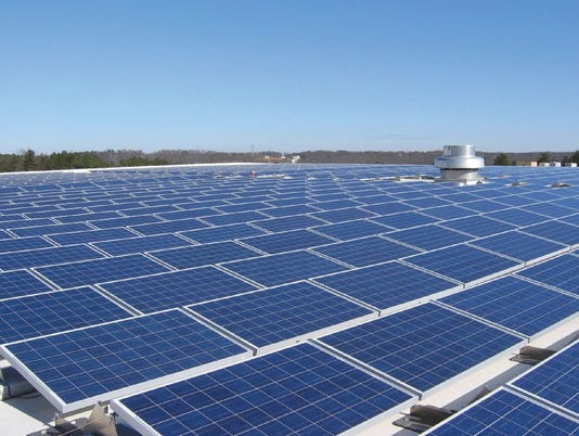 Duke Energy Solar panels