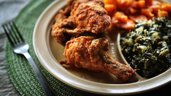 Mike Leach and his family ran soul food restaurants near downtown Memphis for decades. The newest incarnation of the Leach Family Restaurant on Navy Road in Millington is open for lunch and an early dinner every day except Saturday. The food choices change daily, but fried chicken, greens and yams are staples.