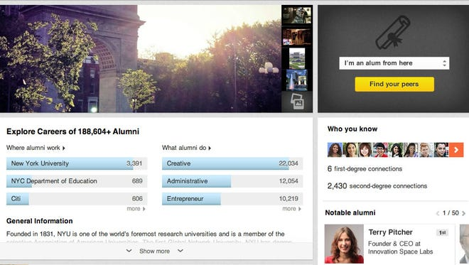 LinkedIn launches University Pages.