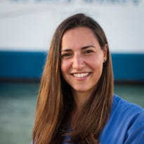 Deborah Mascia, of Yonkers, is a women's health nurse volunteering with Mercy Ships in Madagascar.