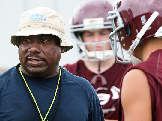 Eagleville coach Floyd Walker