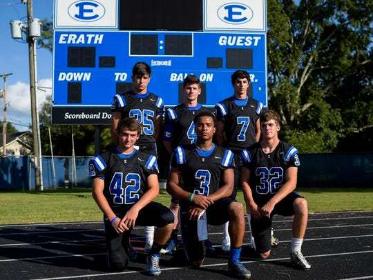 Erath High's top offensive weapons include receiver