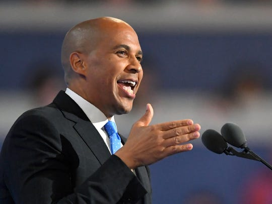 New Jersey Sen. Cory Booker, D-N.J., joined the crowded Democratic field of presidential candidates for 2020 on Friday, Feb. 1, 2019.