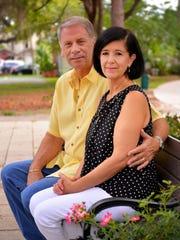 Chuck and Alda Watlington, who now live in Windermere,
