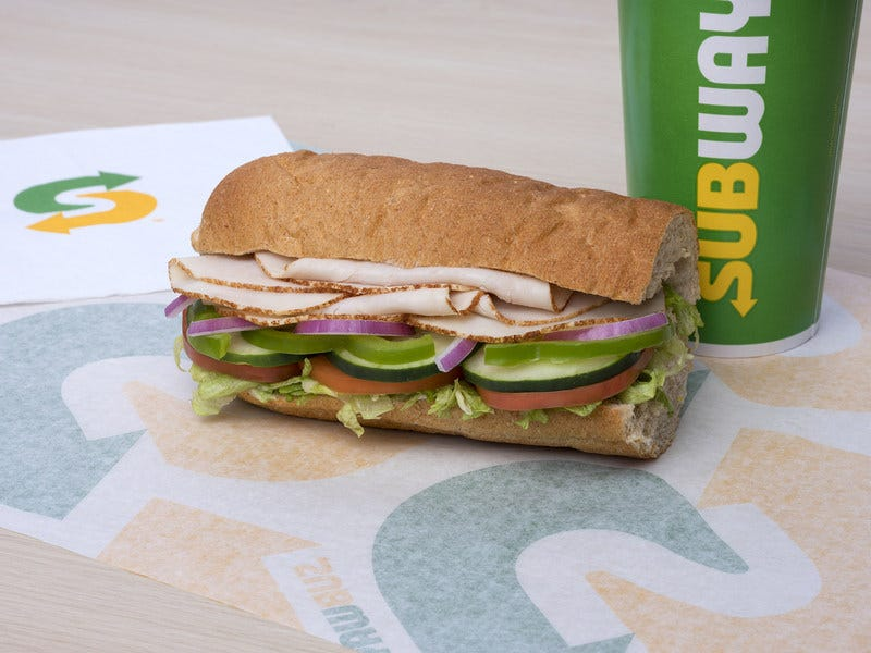 Subway 5 meal deal