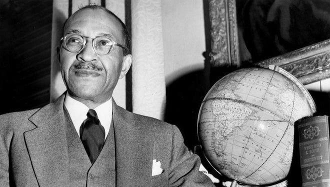 Dr. Charles S. Johnson of Fisk University in February 1951