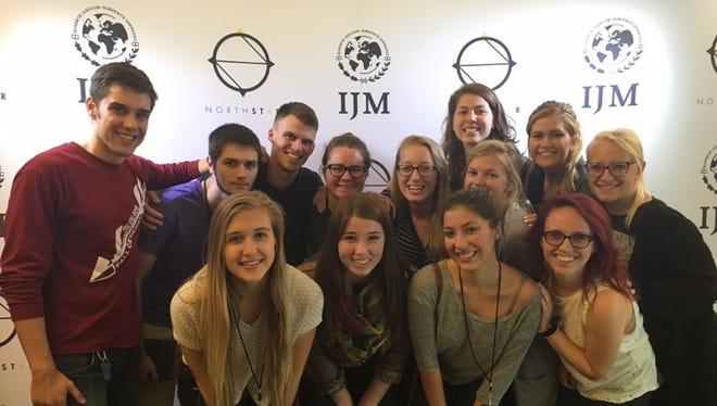 FSU's International Justice Mission fights to end modern slavery and bring awareness to the efforts against it.