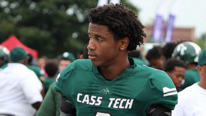 Detroit Cass Tech receiver Donovan Peoples-Jones