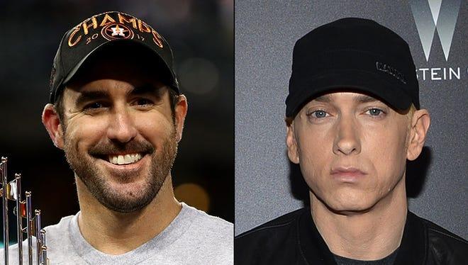 Justin Verlander and Eminem