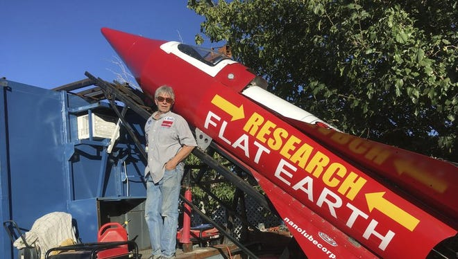 Mike Hughes is a 61-year-old limo driver who's spent the last few years building a steam-powered rocket out of salvage parts in his garage. His project has cost him $20,000, which includes Rust-Oleum paint to fancy it up and a motor home he bought on Craigslist that he converted into a ramp.