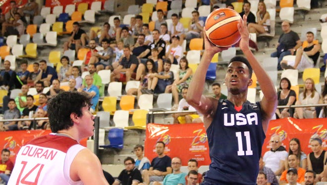 Jordan Brown was one of 24 players who made the McDonald's All-American team.
