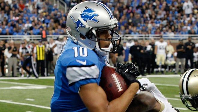 Lions WR Corey Fuller